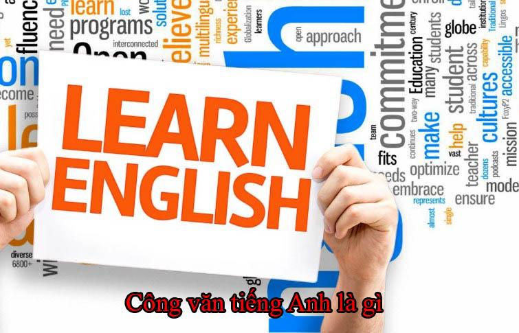 Công văn tiếng Anh là gì