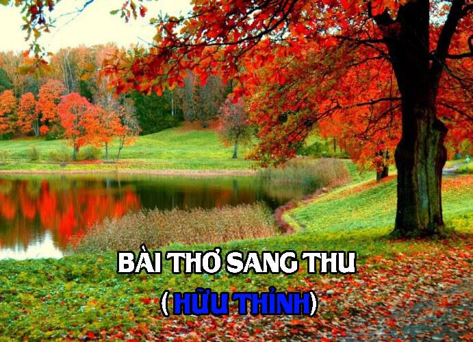 Bài thơ Sang thu
